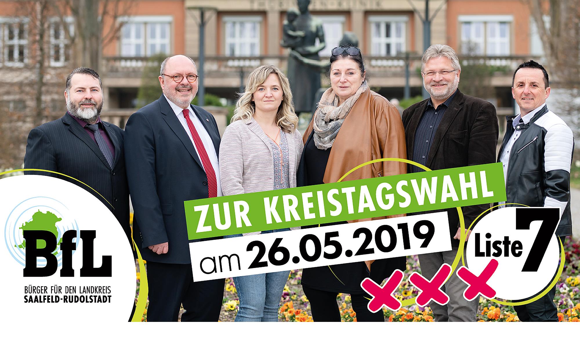 BfL - Bürger für den Landkreis Saalfeld-Rudolstadt